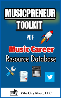 Image of Musicpreneur Toolkit cover